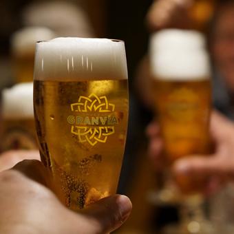Vaso de Cervezas Gran Vía
