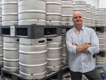 Boris de Mesones. Maestro cervecero de Cervezas Gran Vía.