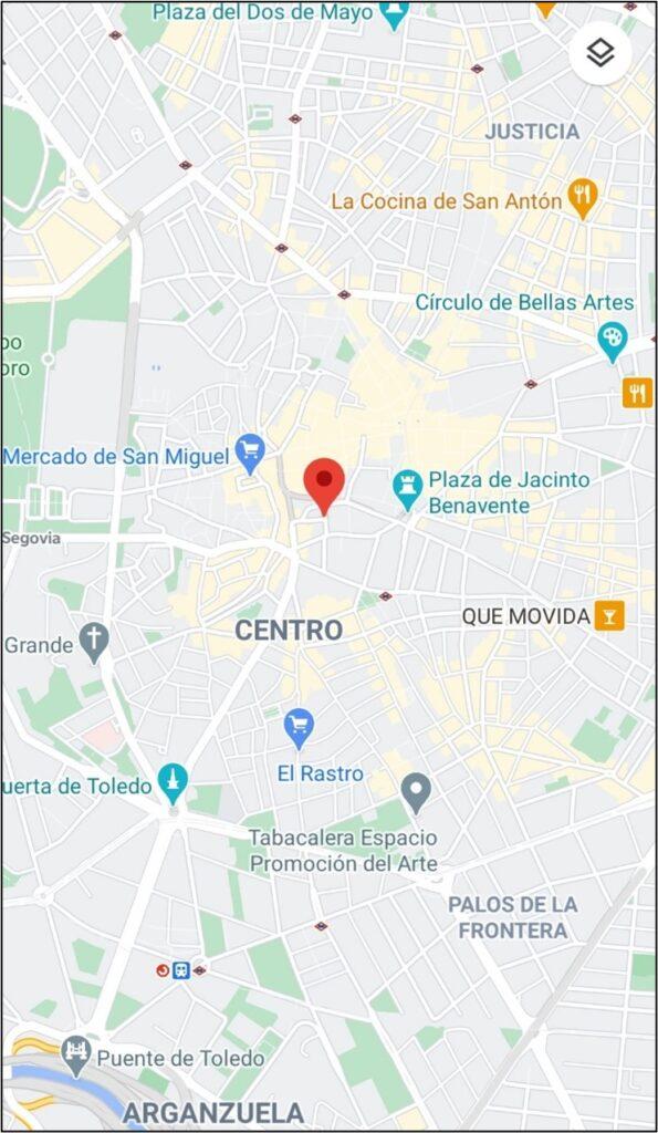 Aplicación de mapas para localizar un local especializado en cerveza