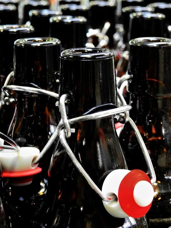Botellas para cerveza casera